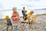 Detské legíny z merino vlny