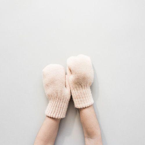Detské vlnené rukavice Béžová ťava