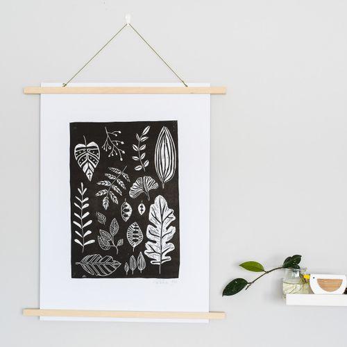 Linoryt Čierne listy