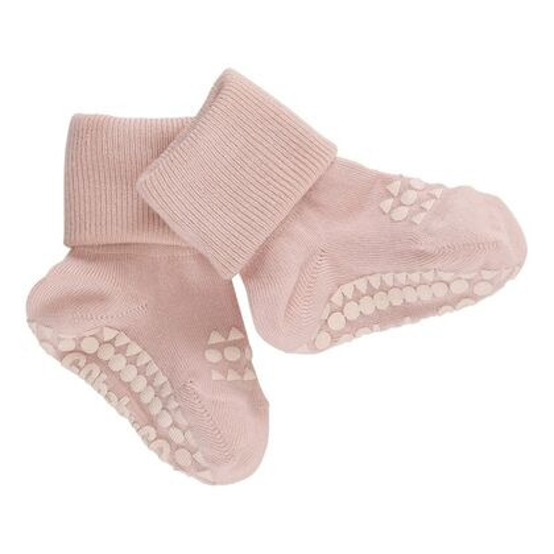 Detské protišmykové ponožky z bambusu Staroružové