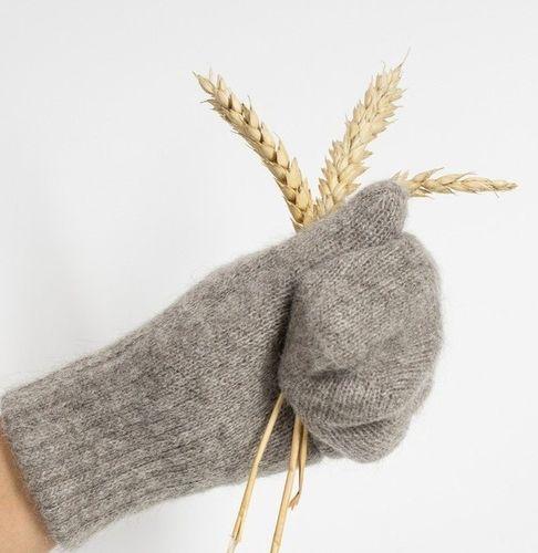 Dospelácke rukavice Sivý jak