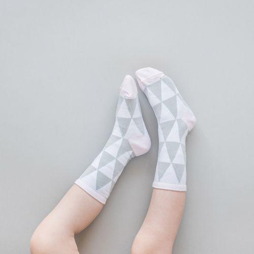 Detské ponožky Trojuholníky