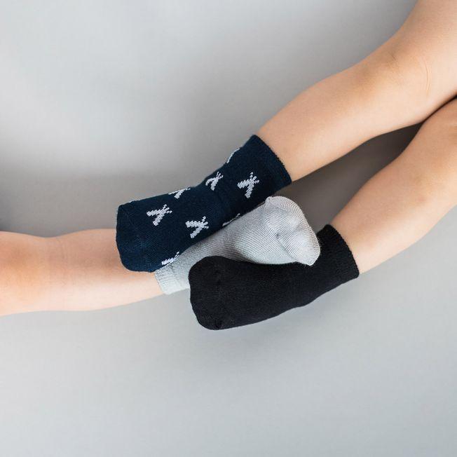 3 malé bambusové ponožky