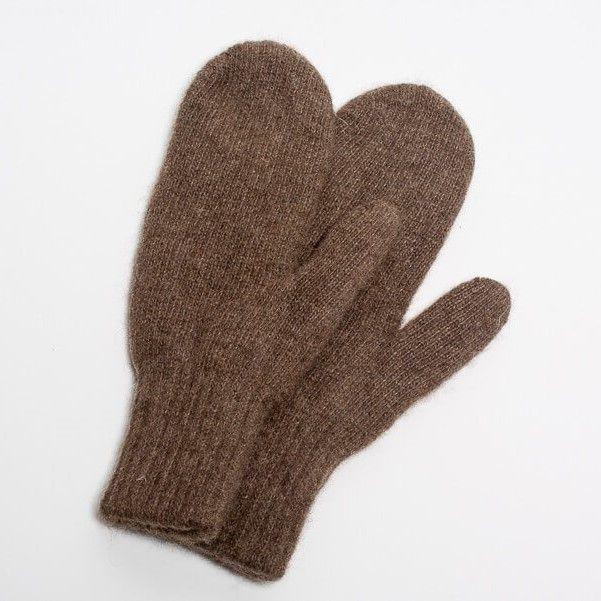 Dospelácke rukavice Hnedý jak
