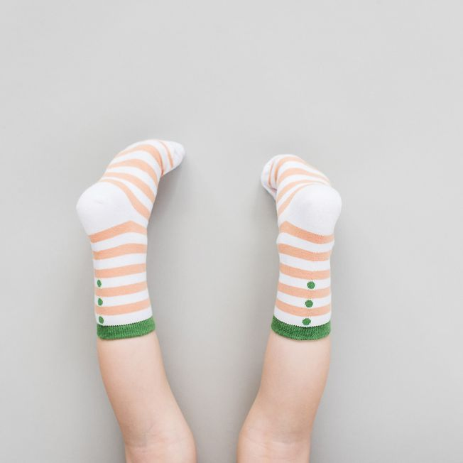 Detské ponožky Broskyňa