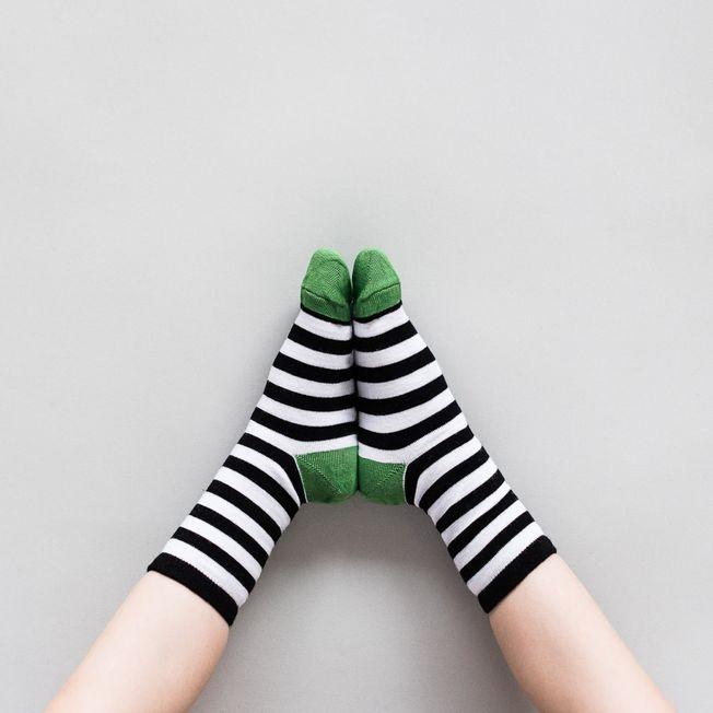 Detské ponožky Zebra