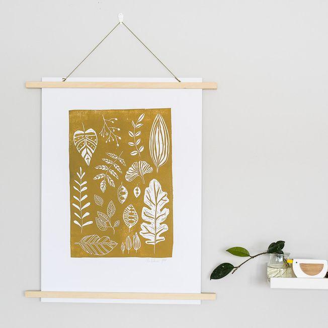 Linoryt Zlaté listy